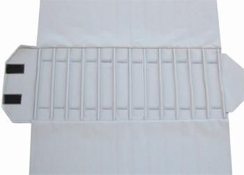 Rouleau pour colliers 12 cases (280x46 mm) + élastiques