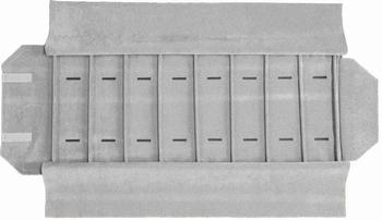 Rolle für Uhren, 8 Fächer (280x72 mm) + Gummibänder