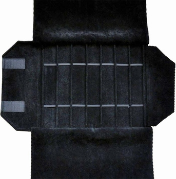 Rolle für Uhren, 7 Fächer (240x37 mm) + Gummibänder