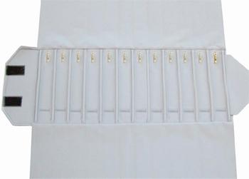 Chain-Roll,12 slots (280x46 mm)+12 Snap Hooks+elastic bands.