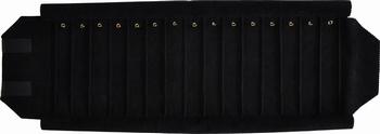 Rolle für Armbänder, 15 Fächer (220x37 mm) + Federringe