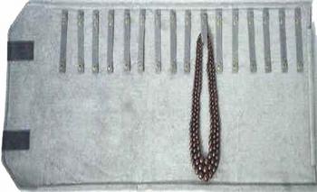 Marmotte pour colliers, 16 lacets