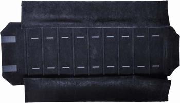 Rolle für Uhren, 8 Fächer (280x62 mm) + Gummibänder