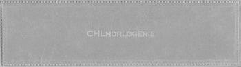 Uhrenbeutel aus beflocktem PVC (285x80 mm)