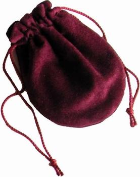 Borsello in cotone floccato