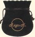 Sachet en coton flocké des 2 côtés (75x85 mm)