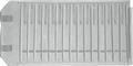 Rolle für Colliers, 15 Fächer (370x37 mm) +Laschen+Gummis