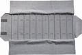 Rolle für Armbänder, 12 Fächer (220x46 mm) + Gummibänder